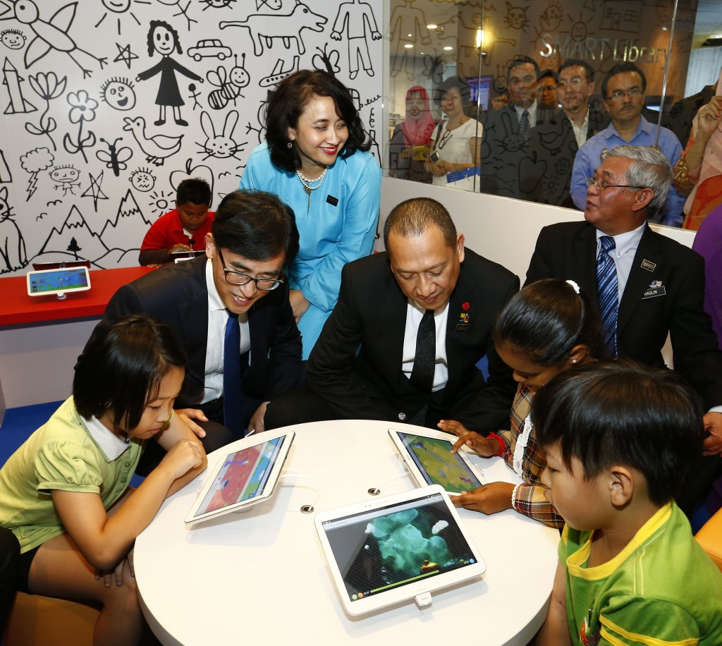 Kid's Zone in Samsung Smart Library @ PNM