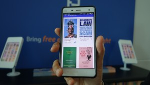 Bluetooth beacon: method to distribute ebooks at KLIA